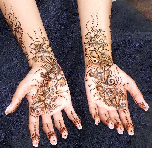 Mehndi For Gents : Mehndi design new fashion